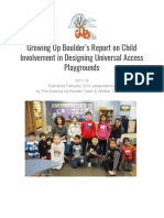 Whittier UAD Playground Summative Report Fall 2017