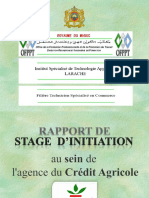 Présentaion - Crédit Agricole Maroc - Initiation.pptx
