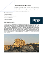 The Rock Churches of Matera