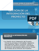 Gestion de integration de proyectos