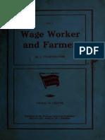 Wage Worker Farmer 00 Pil k
