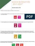 Plan Nacional de Desarrollo 2017-2021 Estrategias