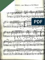 LV Beethoven -Minue yTrío Sol Mayor