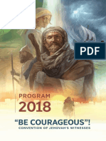 2018 Convention Program