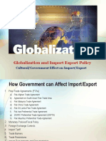 Government's Effect on Import Export-1