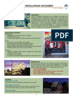 Create Public Art Installations or Exhibits Doc