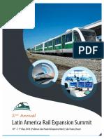 2nd Annual Latin America Rail Expansion Summit