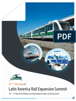 2nd Annual Latin America Rail Expansion Summit