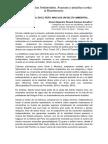 Minería Ilegal en El Perú. Más Que Un Delito Ambiental