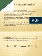 Balanceo de Ecuaciones Iónicas-Alvaro Culqui Montoya 20182019i