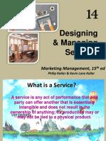 Chapter 14 Mendesain Jasa (Designing Service) Marketing Management