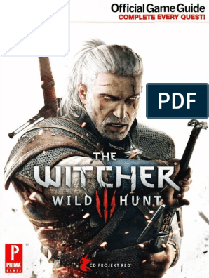 The Witcher 3: Wild hunt prima official game guide