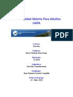 Tarea No. 2, Derecho Constitucional.doc