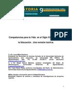 Competencias para la vida en el siglo XXI a travez de la educacion.una revision teorica.pdf