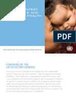 Global Strategy for Women's Children's Health Leaflet Final Sept2010