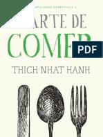 [Mindfulness Essentials] Thich Nhat Hanh - A Arte de Comer (2015, Agir)