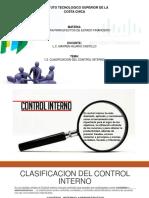 1.2 Clasificacion Del Control Interno