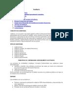 Auditoria Definicion Clases