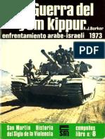 A. J. Barker Guerra Del Yom Kuppur Enfrentamiento Árabe Israeli