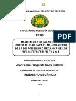 Tesis Soto RCM Para Volquetes FAW