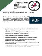 DDF1 Manual