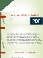 TRANSMISIONES FLEXIBLES
