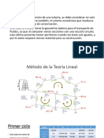 Metodo Teoria Lineal