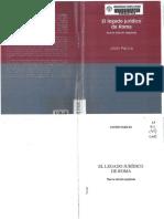 Paricio Javier, El Legado Jurídico de Roma.pdf