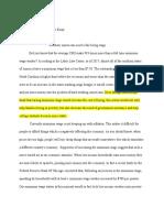 graduation project research essay