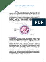 Resumo das aulas práticas imunologia