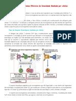 T13 - Mecanismos Efetores da Imunidade Mediada por Células (Resumo - Marisão)