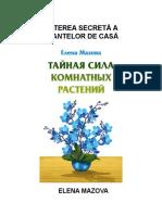 PUTEREA SECRETĂ A PLANTELOR DE CASĂ