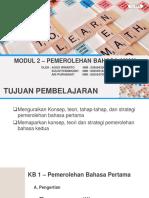 Modul 2 Pendidikan Bahasa Indonesia Di Sd