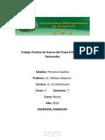 Trabajo Práctico de Guerra Del Chaco Enfermeras Destacadas PDF