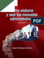 Como Elaborar y Usar Los Manuales Administrativos 4ED-1