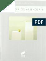 Psicología Del Aprendizaje - Francisco de Vicente