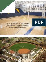 Design 6 Sports Complex Perspectives