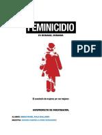 PROYECTO DE INVESTIGACION DE EL FEMINICIDIO EN DURANGO.docx