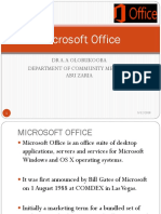 Microsoft Office Lecture