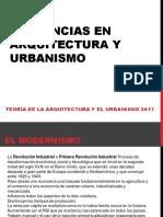 Clase II Tendencias en Arquitectura y Urbanismo