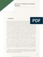 4. Inequidad Espacial en La Dotación Educativa Regional en Colombia