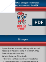 Let the Air Out! Nitrogen Tire Inflation Saves Money and Improves Treadlife