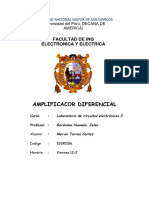 Final Amplificador Diferencial