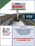 01.- Estudio Señalizacion y Seg. Vial