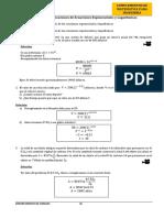 HT 3 Ecuaciones Exponenciales Logaritmos Aplicaciones Solucion