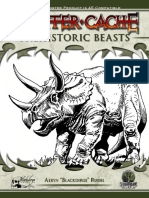 Goodman Games - Critter Cache #2 - Prehistoric Beasts