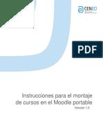 Instrucciones Administradores Moodle Portable