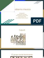 Gobierno Mexica