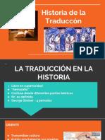 Historia de La Traduccion