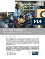 ISO 18436 Cat I VIBROBAL MOBIUS Online Presencial Certificacion Internacional - 4 Paginas R3